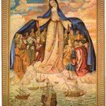 Orción: Sub tuum praesidium a Virgen María