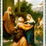 Oración: María, visita mi casa noche y día. a Virgen María