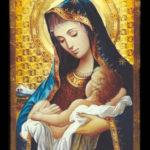 Oración de san Efrén. a Virgen María
