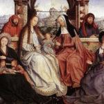 Hija del pueblo, María, a Virgen María