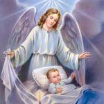 Oración las horas que pasan a Ángel de la Guarda