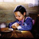 Oración Al Sentarse A La Mesa A Señor